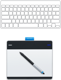 Drawing Tab Intuos Creative Pen Transparent & PNG Clipart Free