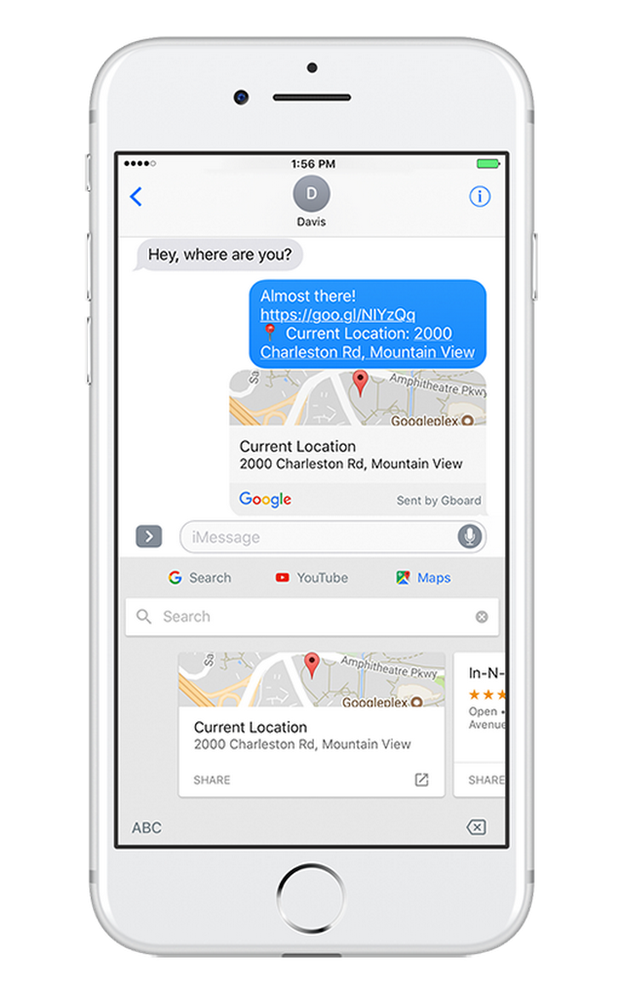 Drawing tab ios. Gboard for iphone adds