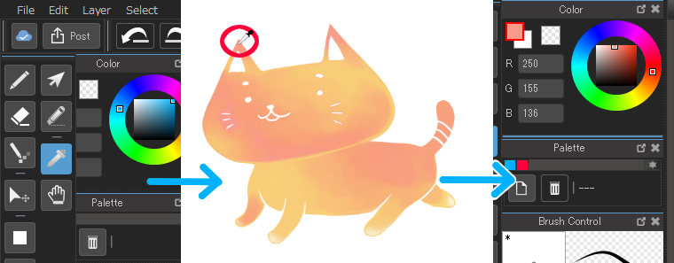 using tools. Drawing tab medibang paint picture transparent stock