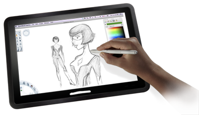 Drawing tab pad. Features penabled mac tablet