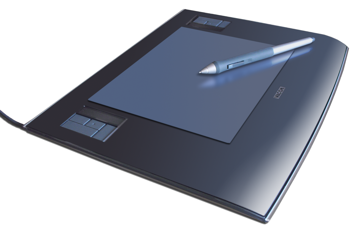 Digitizing drawing tablet. Graphics simple english wikipedia