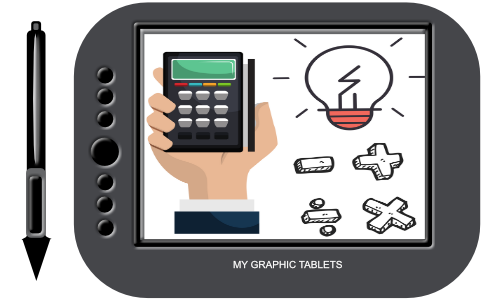 Electronics drawing technology. Types of tablets basic