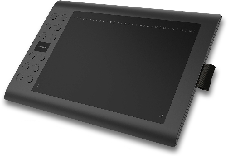 Drawing tablety big. Size graphics pen tablet