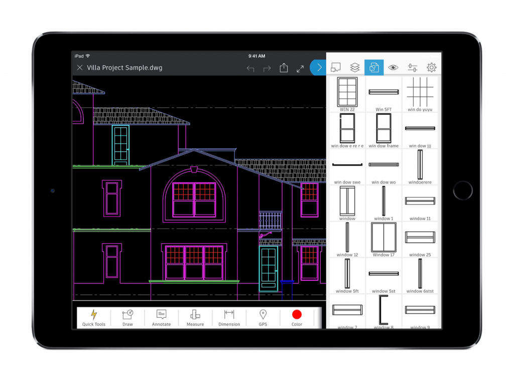 Drawing tablety cad. Best apps for architects