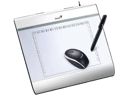 Drawing tablety genius. Support tablets mousepen ixe