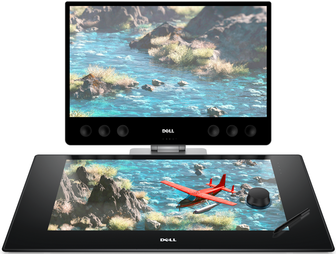 Drawing tablety screen. Dell s canvas is