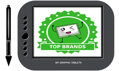 Tablet brands top quality. Drawing hardware svg transparent library
