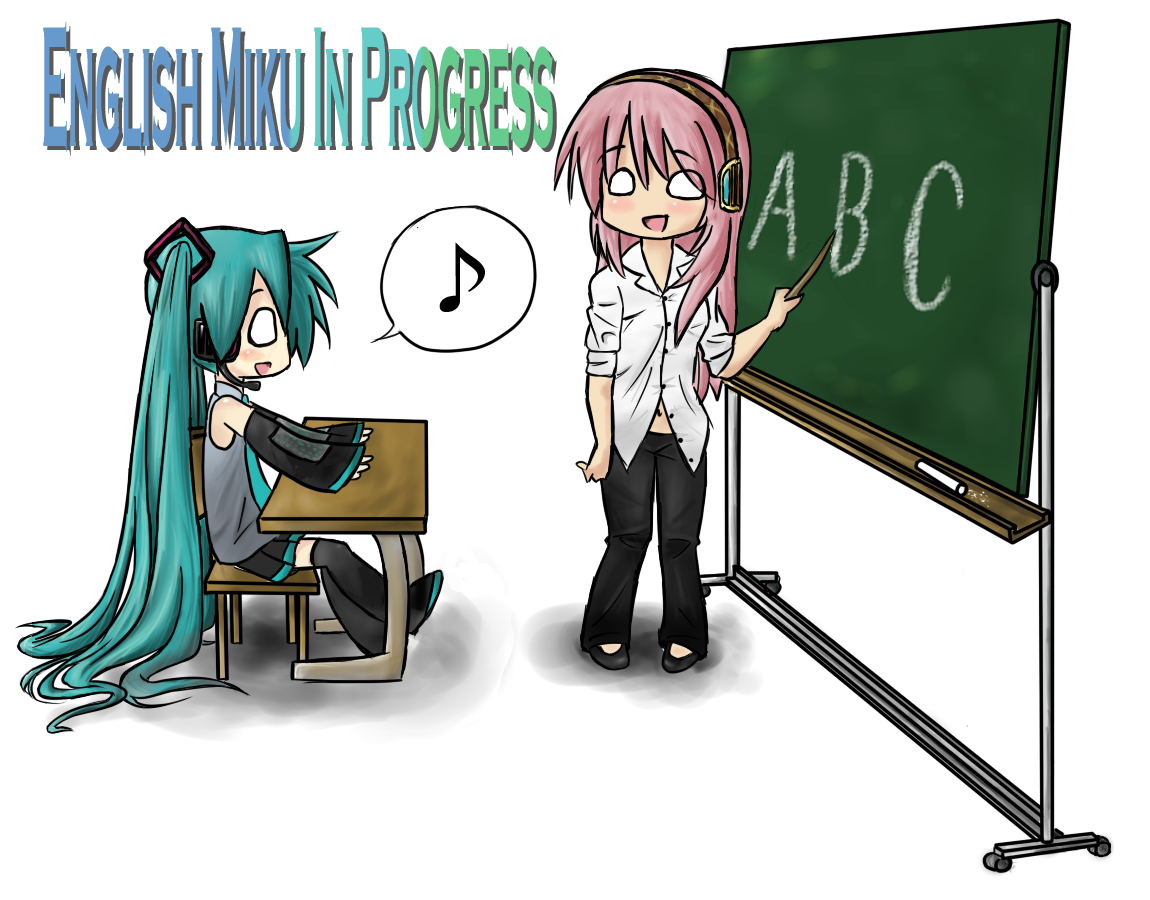 Drawing teaching chibi. Teacher and student by
