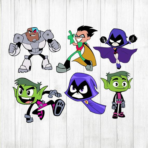 Teen Titans. Pin on products