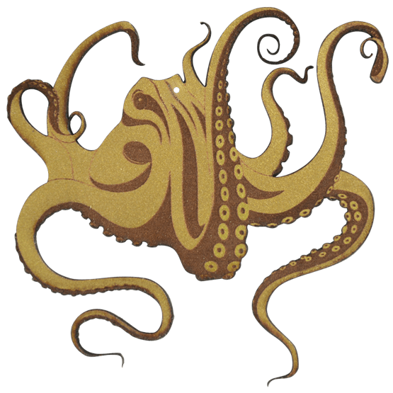 Drawing tentacles. Octopus squidward royalty free