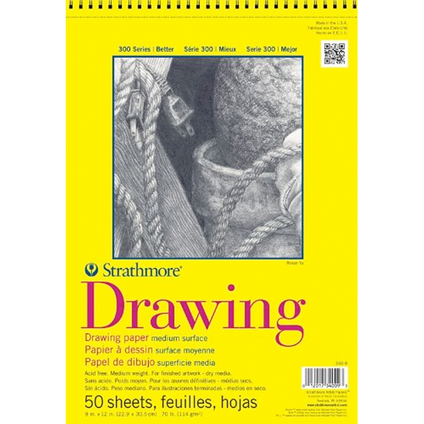 Drawing textbooks course. Strathmore series page books