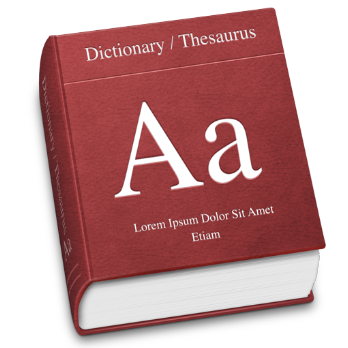 Transparent dictionary blank. Pmo and project management