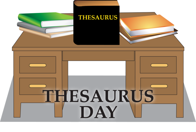 Drawing thesaurus clipart. Celebrate day with this