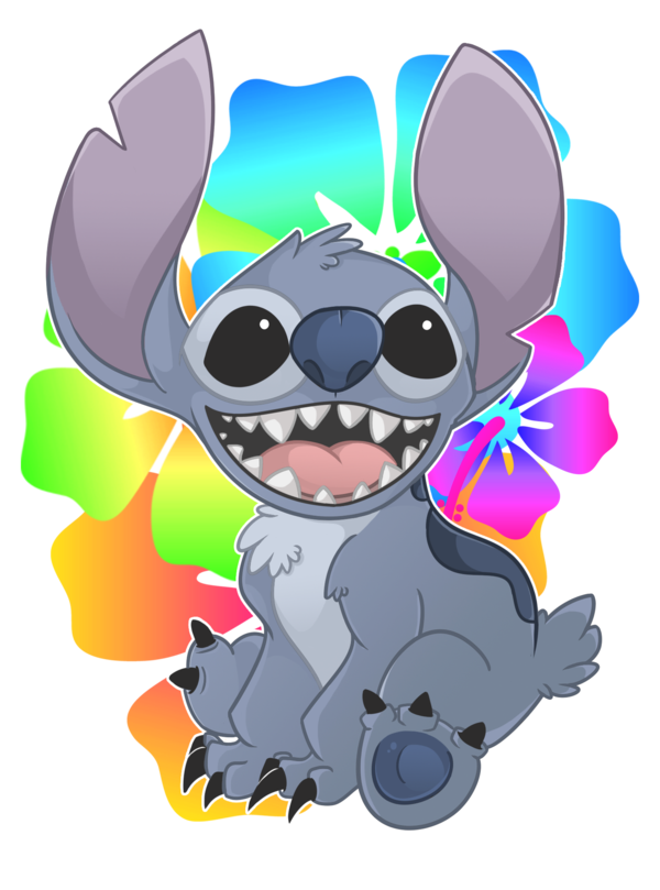 Drawing thing draw stitch. The cutest in world