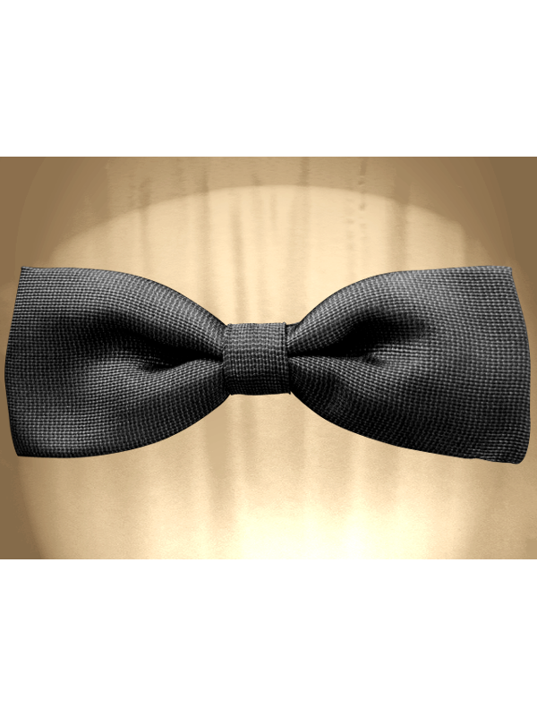 Drawing ties bow tie. With