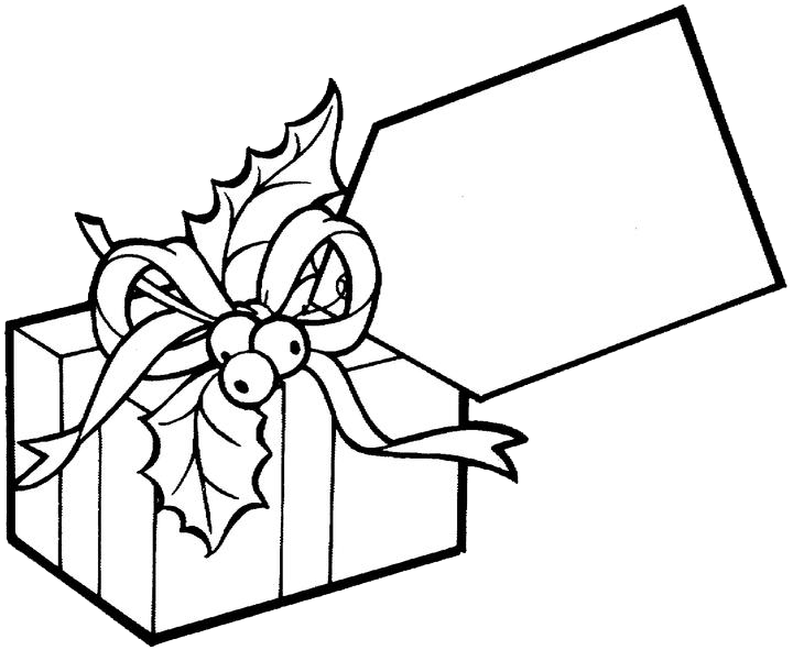 Drawing present colouring. Presents coloring pages for