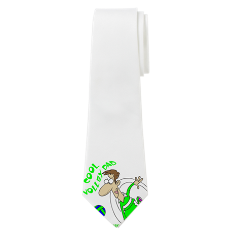 Drawing ties dad. Personalized volley neck tie