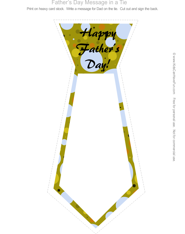 Drawing ties father's day. Best father s