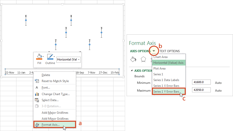 Drawing timelines horizontal. Office timeline excel how