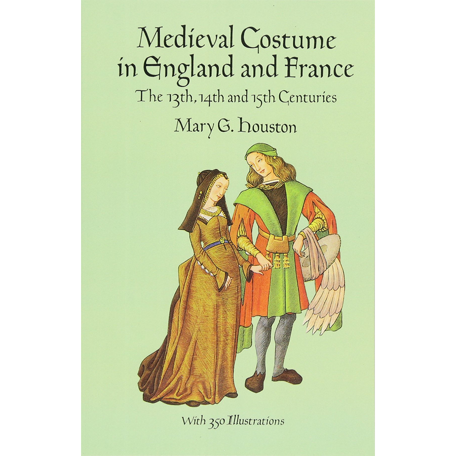 Drawing timelines 15th century. Medieval costume in england