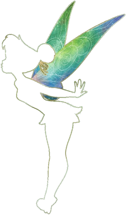 Drawing tinkerbell sad. Fly to neverland the