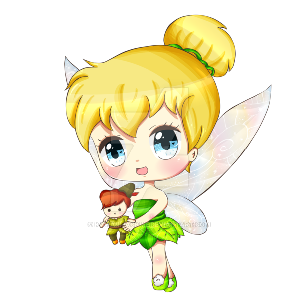 Drawing tinkerbell cute. By kawaiiijackiiie on deviantart