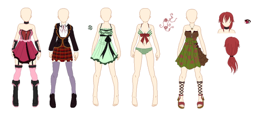 Drawing mannequins fashion design. Rwby oc s vrdn
