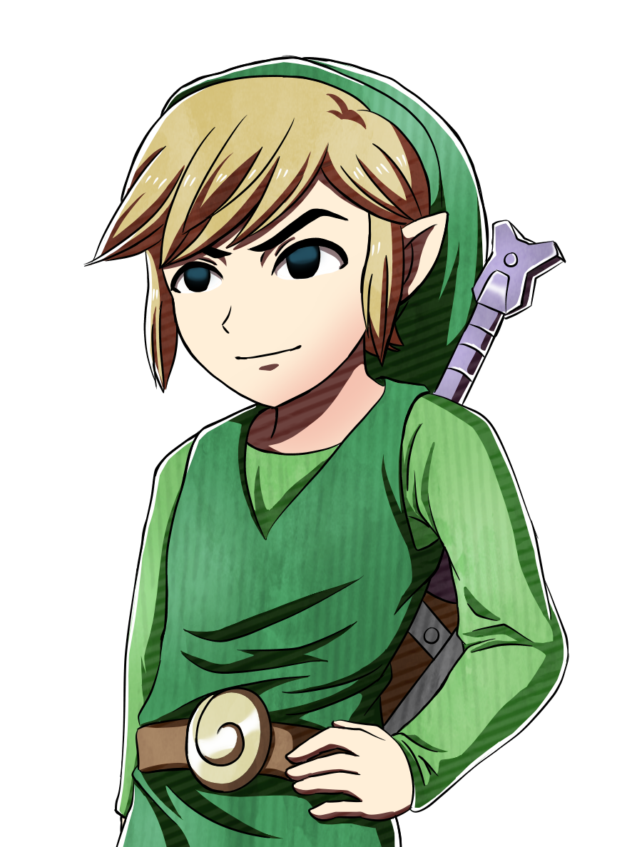 Drawing link toon. What am i doing
