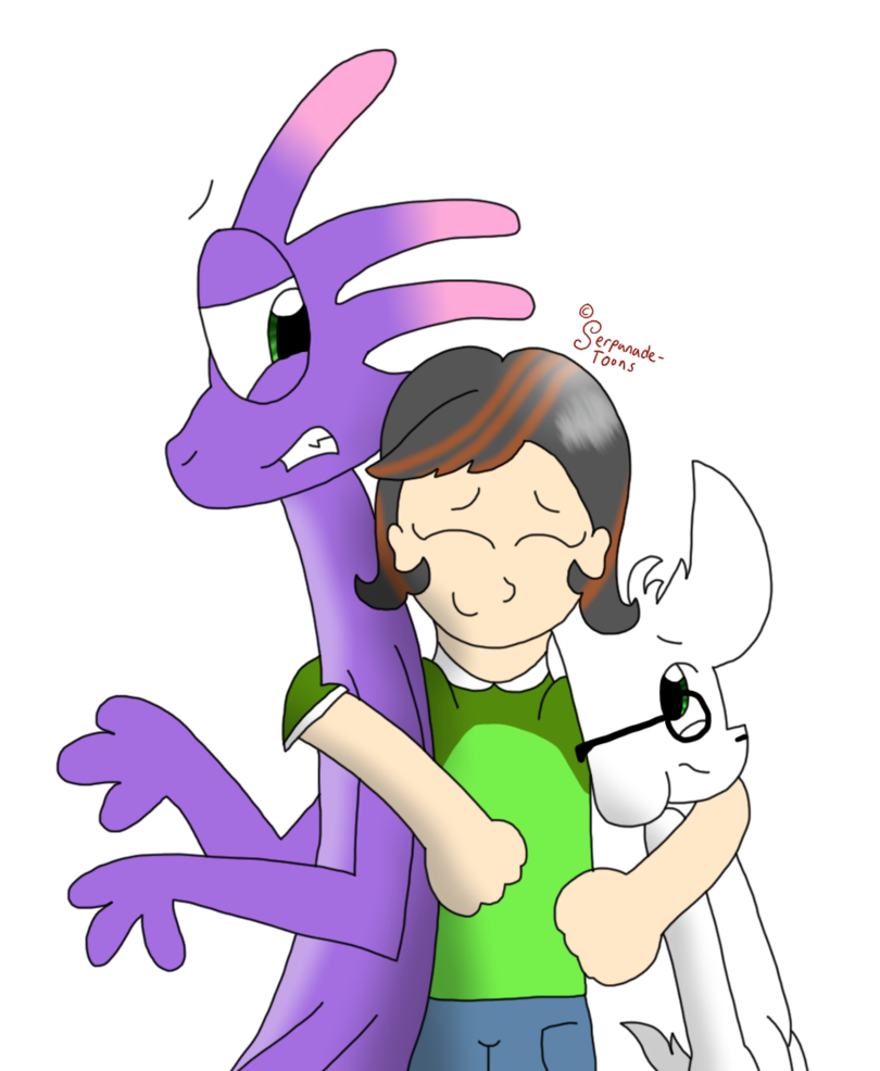Drawing toons love. You guys by serpanade