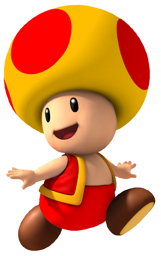 Drawing toons mario. Image fire yellow toad