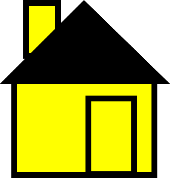 Drawing tornadoes house. Collection of free houses