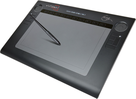 Drawing touchpad. Dennis sweatt viztablet digital