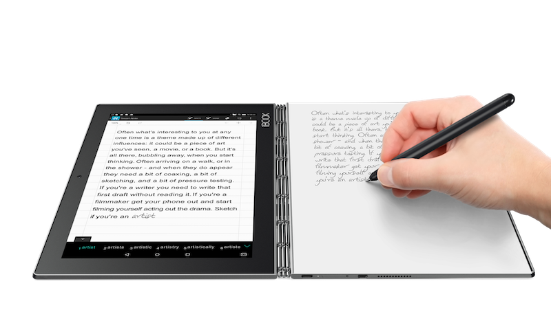 Drawing touchpad. Lenovo s yoga book