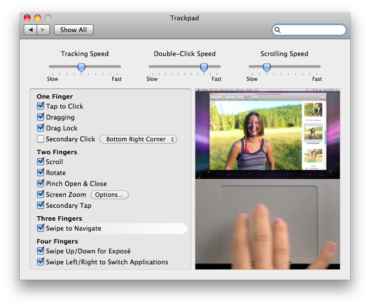 Drawing touchpad macbook. Osx snow leopard can