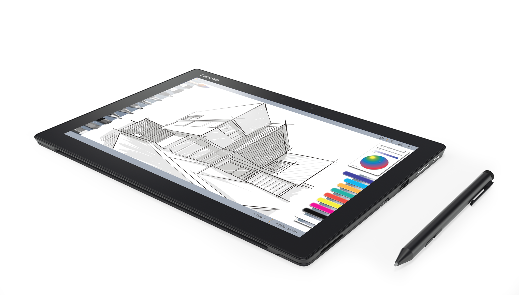 Drawing touchpad stylus. Ces new lenovo miix