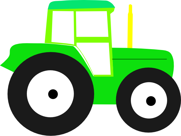 Drawing tractors easy. Tractor for kids at