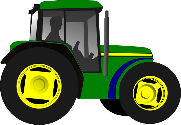 Drawing tractors farm equipment. How to make a