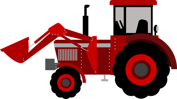 Drawing tractors farm machinery. Tractor kid agriculture svg