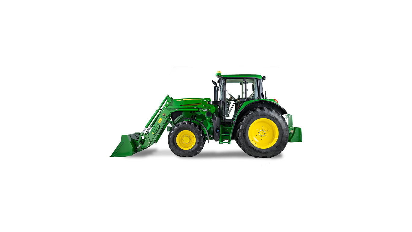 Drawing tractors articulated. Utility m john deere