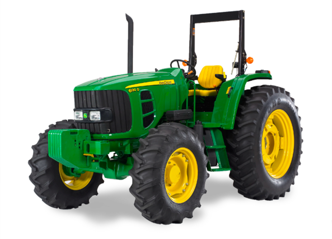 Drawing tractors land transport. D series utility