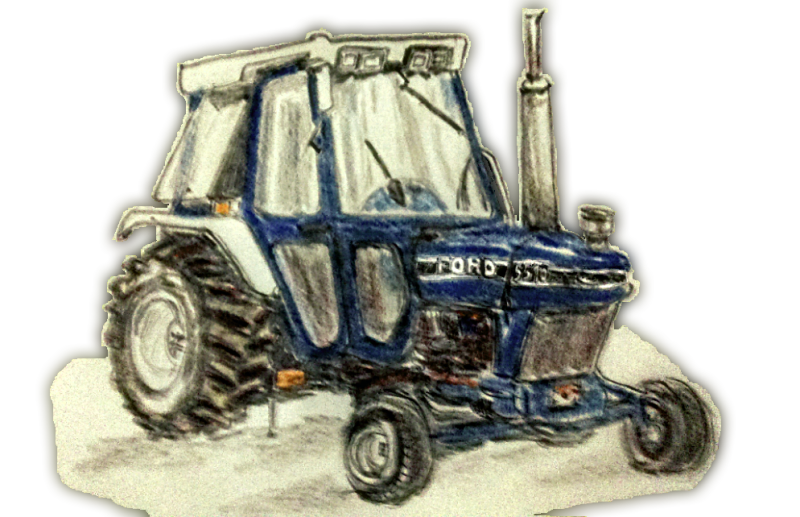 Drawing tractors big tractor. Sketching why ash n