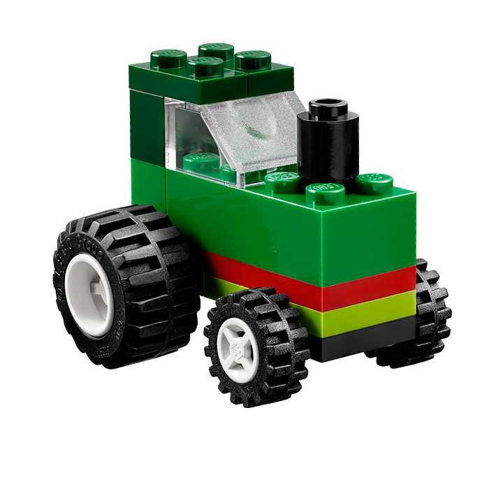 Drawing tractors toy tractor. Lego classic building instructions