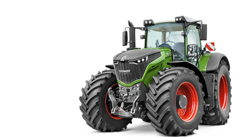 Drawing tractors toy tractor. On site service fendt