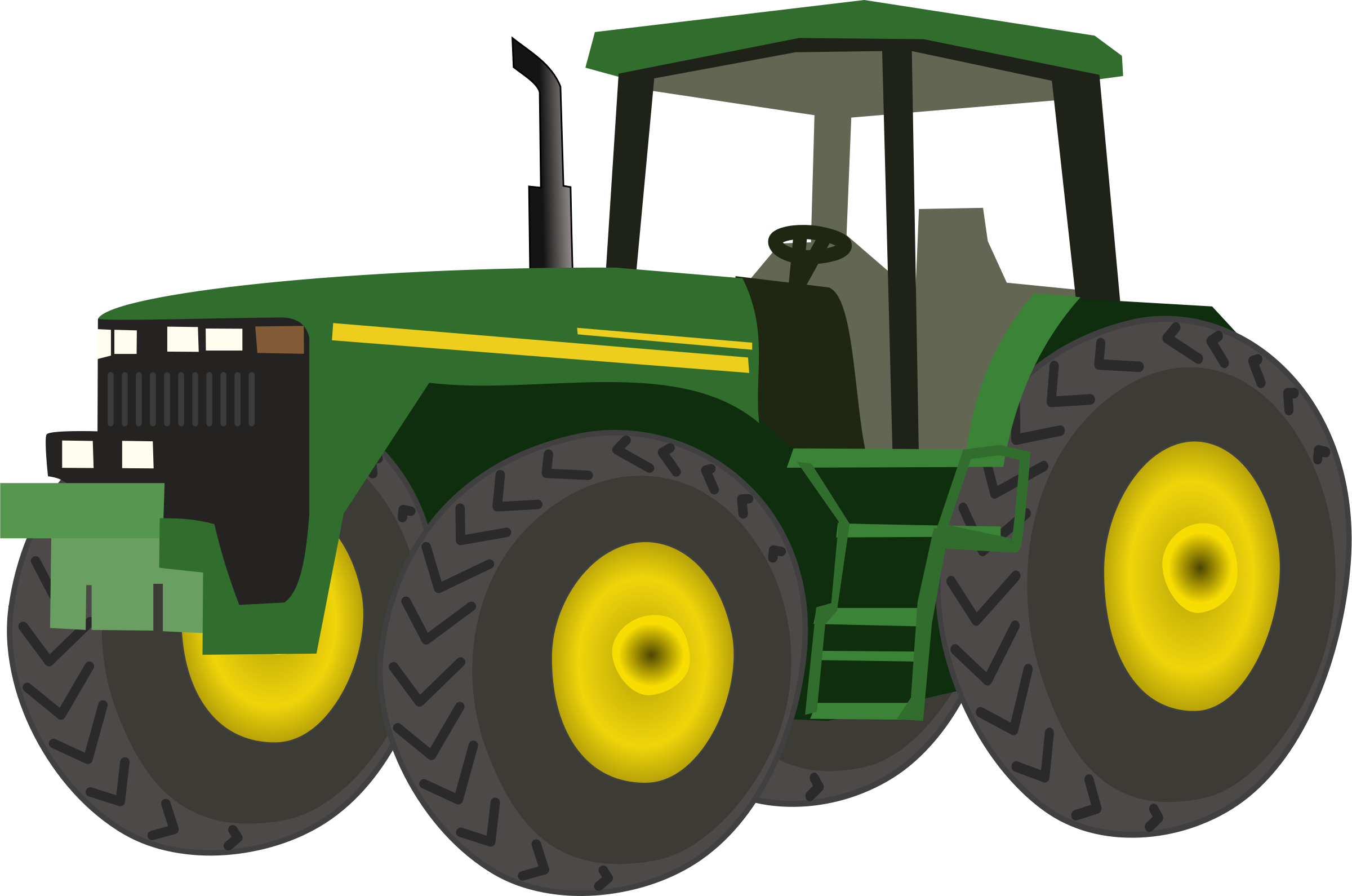 Drawing tractors tractor trolley. Collection of clipart