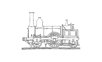 Drawing train 1800. Bluewater model engineering society