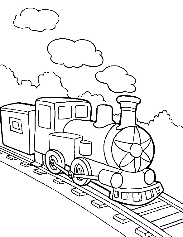 Drawing Train Smoke Transparent Clipart Free Download