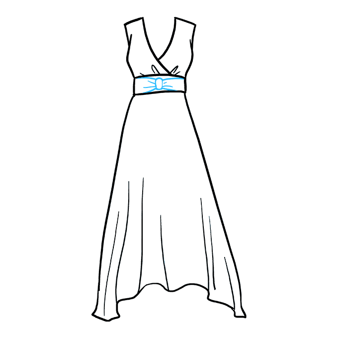 Drawing it dress. How to draw a
