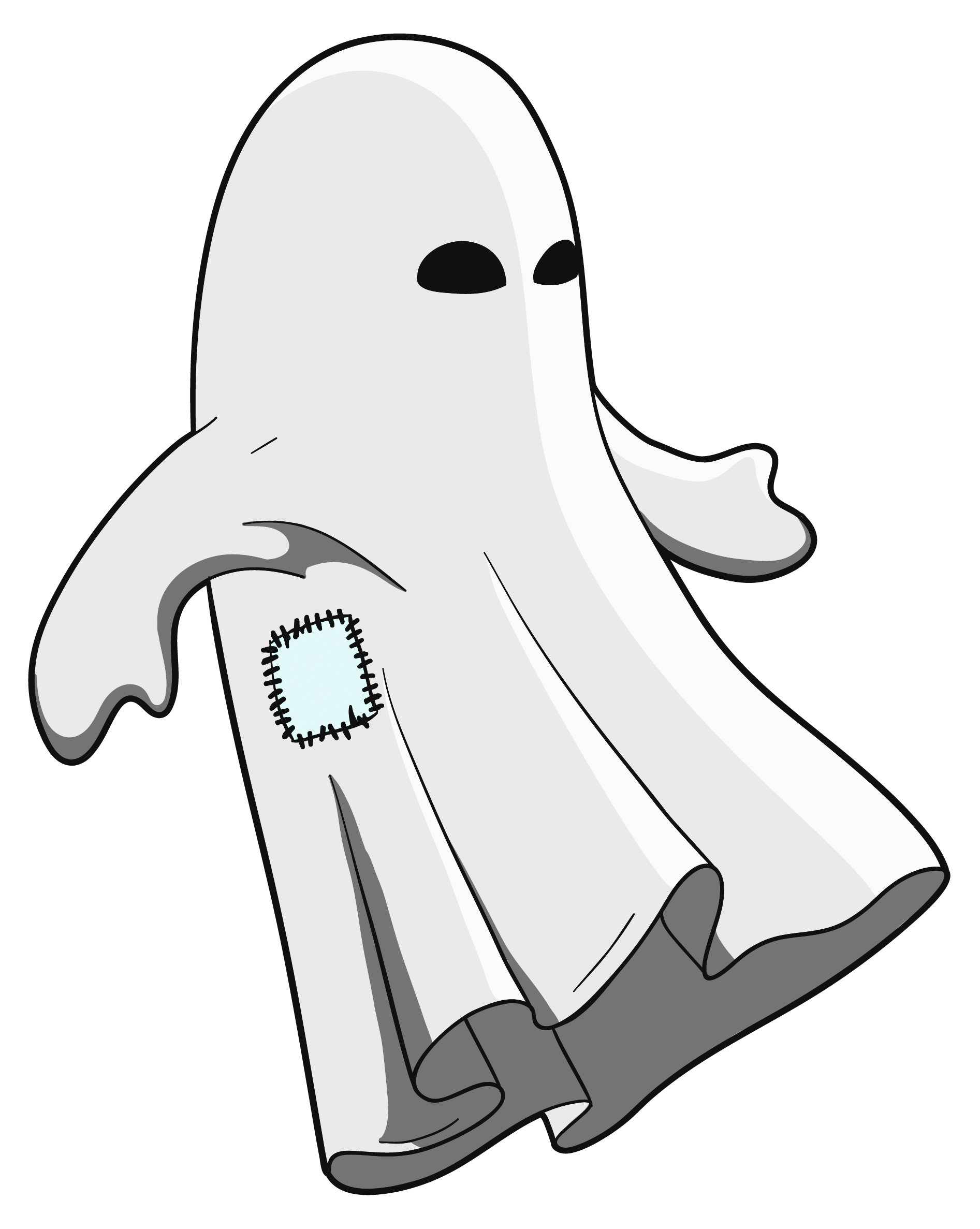 transparent eel ghost