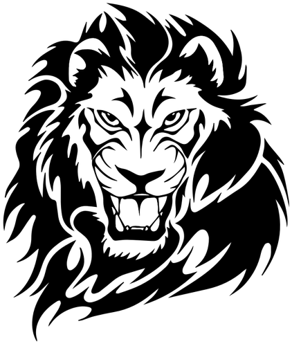 Aztec drawings of google. Drawing lions svg black and white download