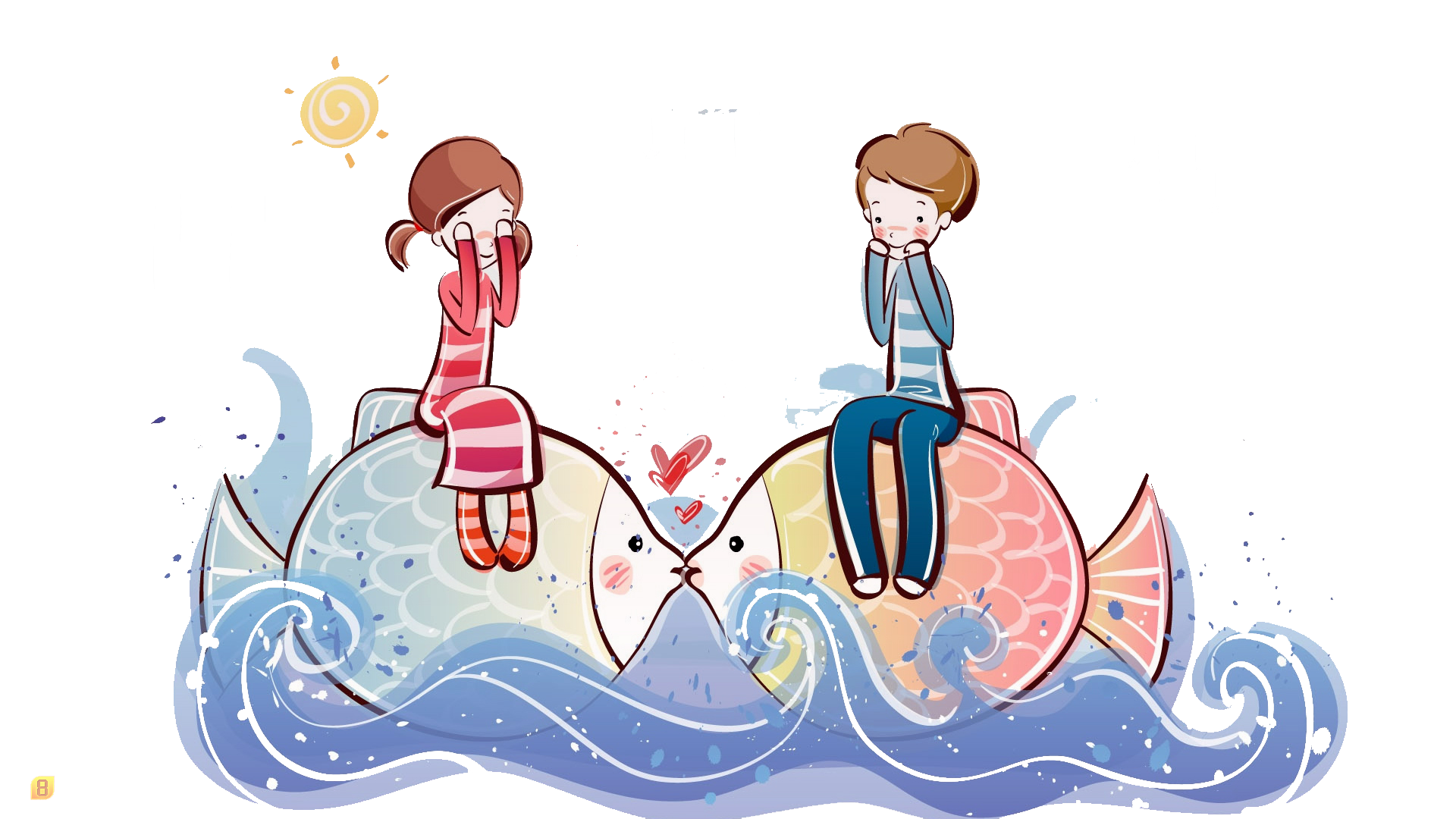 Drawing trippy high resolution. Cartoon couple definition television